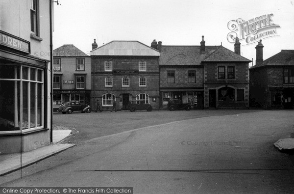 Photo of St Just In Penwith, Market Square c.1950
