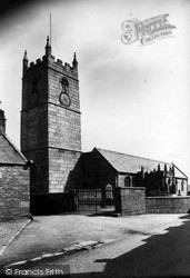 St Just In Penwith, Parish Church c.1935