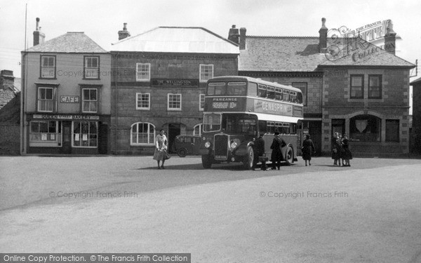 Photo of St Just In Penwith, Square c.1950