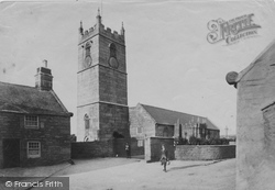 St Just In Penwith, The Church 1908