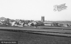 St Just In Penwith, The Church And Town c.1935
