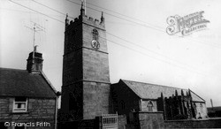 St Just In Penwith, The Church c.1955