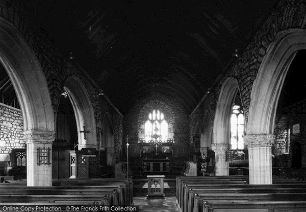 Photo of St Just In Penwith, The Church Nave c.1950