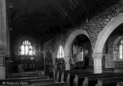 St Just In Penwith, The Church Nave c.1950