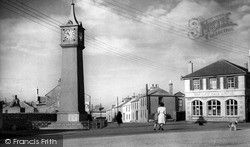 St Just In Penwith, The Clock Tower c.1950