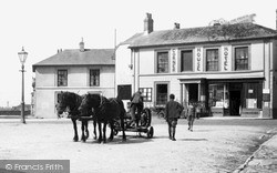 St Just In Penwith, The Corner House Hotel c.1935