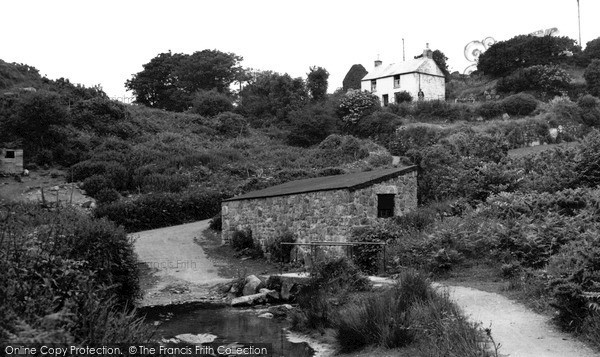 Photo of St Just In Penwith, The Ford c.1950
