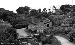 St Just In Penwith, The Ford c.1950