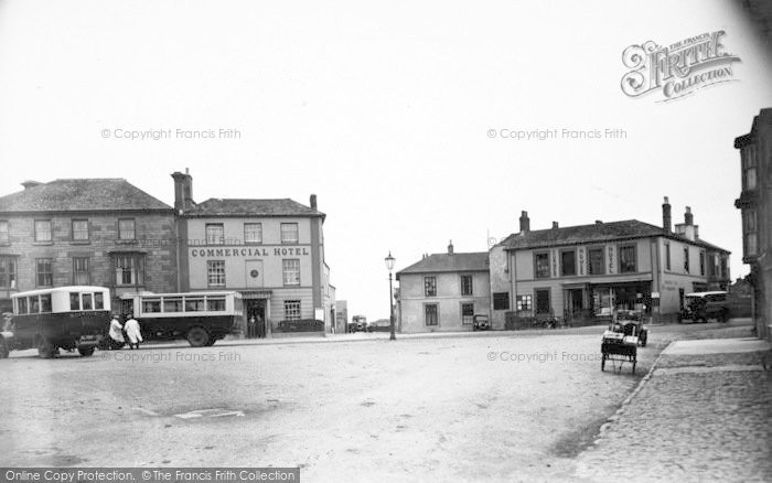 Photo of St Just In Penwith, The Square c.1935
