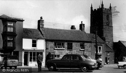 St Just In Penwith, The Square c.1955