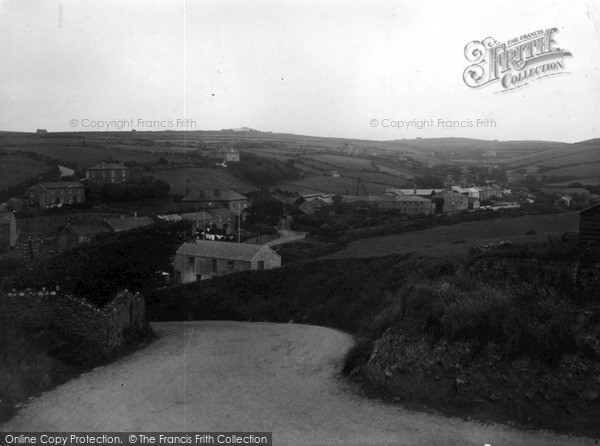 Photo of St Just In Penwith, Tregeseal c.1950