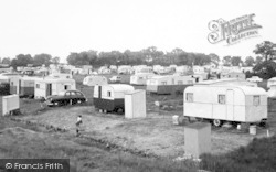 St Lawrence Bay, St Lawrence Bay Caravan Site, The Stone c.1960