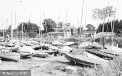 St Lawrence Bay, The Sailing Club, Stone c.1960