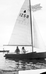 St Lawrence Bay, Yachting At The Stone c.1955