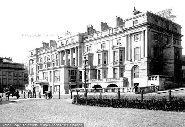 Photo of St Leonards, Royal Victoria Hotel 1892