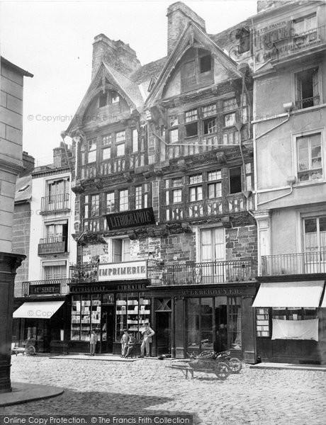 Photo of St Lo, Maison Du Poids c.1860