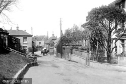 1898, St Margaret's At Cliffe