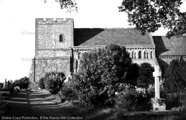 Photo of St Margaret's At Cliffe, Church Of St Margaret Of Antioch c.1955