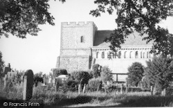 Church Of St Margaret Of Antioch c.1955, St Margaret's At Cliffe