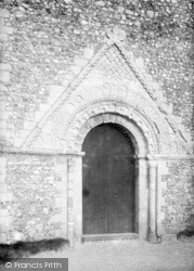Church Of St Margaret Of Antioch, Entrance 1898, St Margaret's At Cliffe