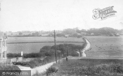 From The Station Road 1903, St Margaret's At Cliffe
