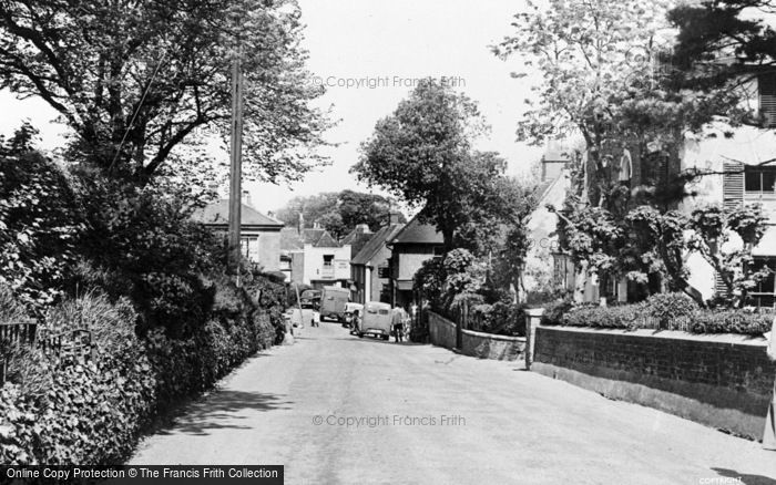 Photo of St Margaret's At Cliffe, High Street c.1955