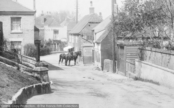Photo of St Margaret's At Cliffe, The Carriers Arms 1898