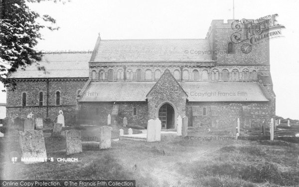 Photo of St Margaret's At Cliffe, The Church c.1900