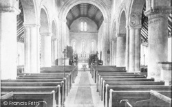 The Church, Interior 1903, St Margaret's At Cliffe