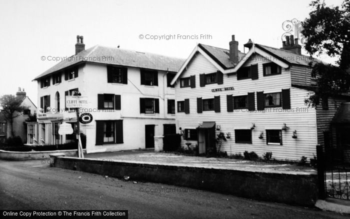 Photo of St Margaret's At Cliffe, The Cliffe Hotel c.1960