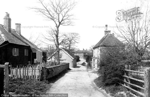 Photo of St Margaret's At Cliffe, The Village 1898