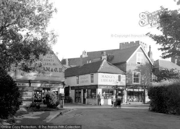 Photo of St Margaret's At Cliffe, The Village c.1955