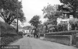 The Village Street c.1955, St Margaret's At Cliffe