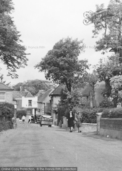 Photo of St Margaret's At Cliffe, The Village Street c.1955