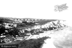 St Margaret's Bay, Beach And Cliff 1898