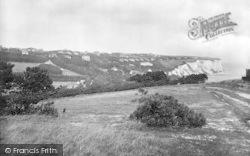 St Margaret's Bay, Looking East 1924