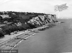 St Margaret's Bay, Looking East c.1955