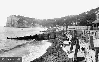 St Margaret's Bay, the Beach 1924
