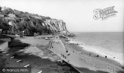 St Margaret's Bay, The Beach And Cliffs c.1965