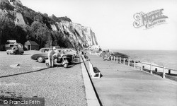 St Margaret's Bay, The Promenade c.1965