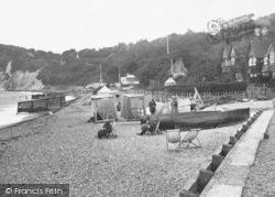St Margaret's Bay, West Beach 1918