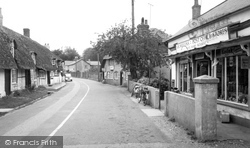 Post Office Stores c.1955, St Mary Bourne