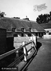 The Bourne Stream And Plough Inn c.1950, St Mary Bourne