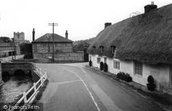 The Bridge c.1955, St Mary Bourne