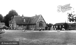 The School c.1955, St Mary Bourne