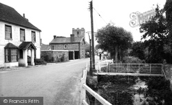 The Village And St Peter's Church c.1955, St Mary Bourne