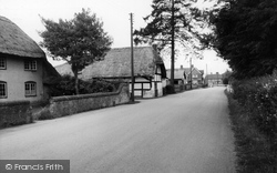 Village Street c.1955, St Mary Bourne