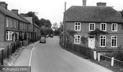Village Street c.1960, St Mary Bourne