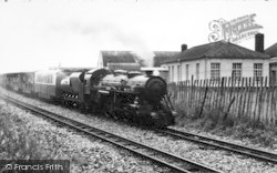 St Mary's Bay, A Train In The Station c.1960