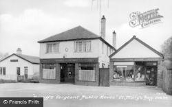 St Mary's Bay, Bailiff's Sergeant Public House c.1955